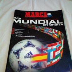 Colecionismo desportivo: 21-MARCA GUIA DEL MUNDIAL FUTBOL FRANCIA 98. Lote 193759478