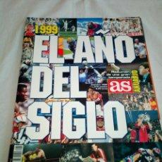 Coleccionismo deportivo: 20-ANUARIO AS 1999, EL AÑO DEL SIGLO. Lote 193759560