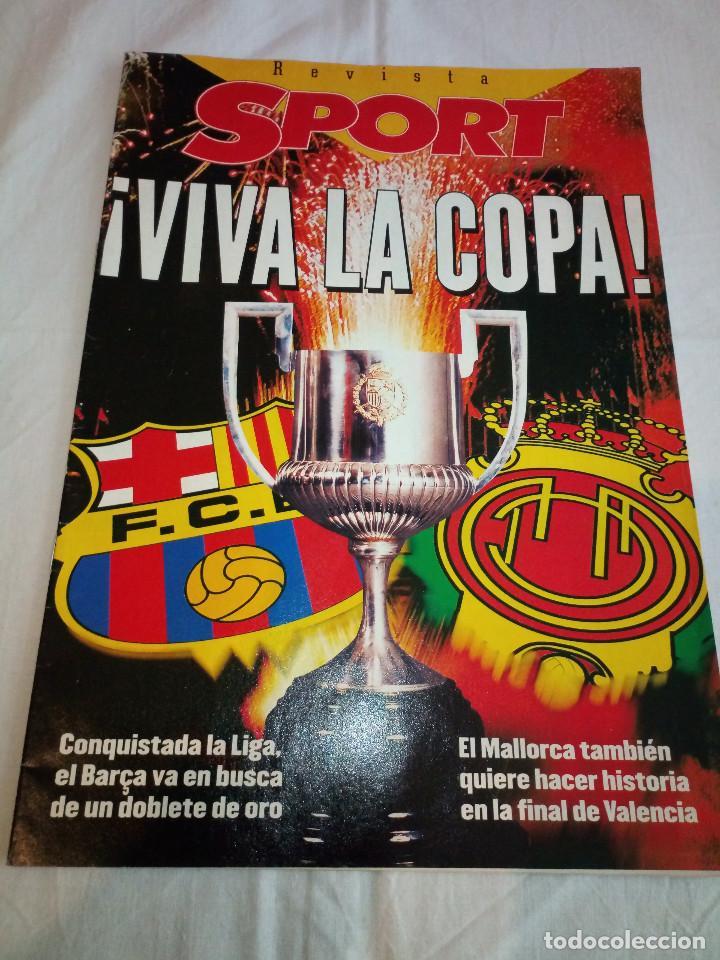 19-REVISTA SPORT, VIVA LA COPA, 1997 (Coleccionismo Deportivo - Revistas y Periódicos - Sport)