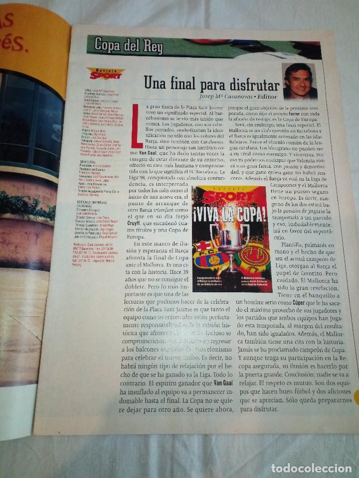 Coleccionismo deportivo: 19-REVISTA SPORT, viva la copa, 1997 - Foto 2 - 193759625