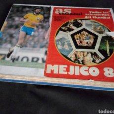 Coleccionismo deportivo: MARADONA CAMPEON DEL MUNDO AS MUNDIAL MEXICO 1986 COMPLETO 28 DIARIOS AS MÁS DE 1000 PÁGINAS. Lote 193787257