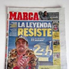 Coleccionismo deportivo: MARCA: FERNANDO ALONSO GANA LE MANS. Lote 193875171
