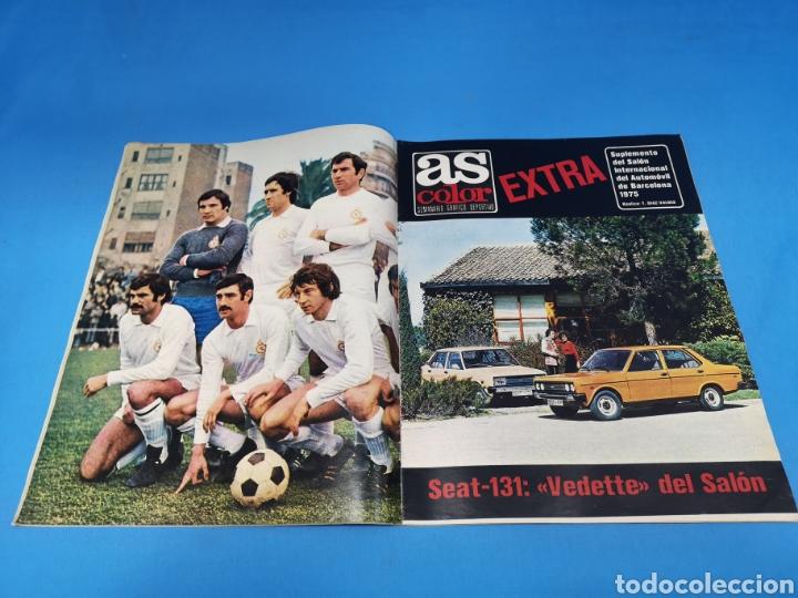 Coleccionismo deportivo: Revista AS COLOR NUM. 206. CAMPEÓN. PÓSTER CENTRAL CULTURAL Y DEPORTIVA LEONESA. SUPLEMENTO DEL AUTO - Foto 2 - 193902903