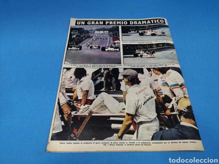 Coleccionismo deportivo: Revista AS COLOR NUM. 206. CAMPEÓN. PÓSTER CENTRAL CULTURAL Y DEPORTIVA LEONESA. SUPLEMENTO DEL AUTO - Foto 3 - 193902903