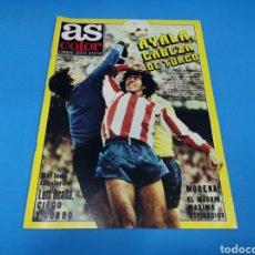 Coleccionismo deportivo: REVISTA AS COLOR NUM. 441. AYALA, CABEZA DE TURCO. PÓSTER CENTRAL REAL SOCIEDAD. Lote 193906236