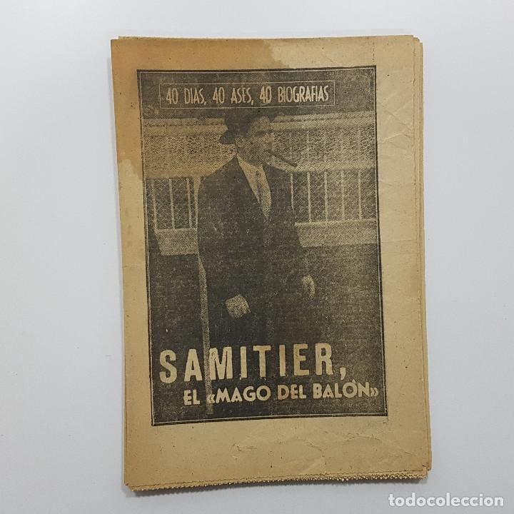 Coleccionismo deportivo: LOTE 50 números años 1963 y 1964 de: 40 DÍAS 40 ASES 40 BIOGRAFÍAS (Marca) intonsos - Foto 11 - 193906457