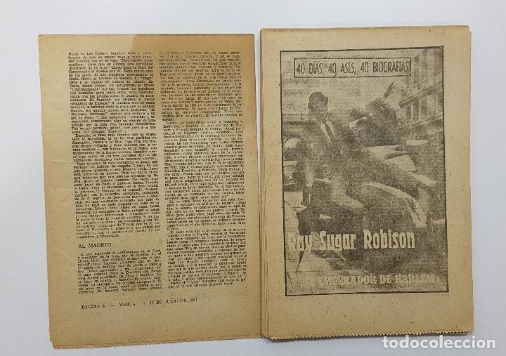 Coleccionismo deportivo: LOTE 50 números años 1963 y 1964 de: 40 DÍAS 40 ASES 40 BIOGRAFÍAS (Marca) intonsos - Foto 12 - 193906457
