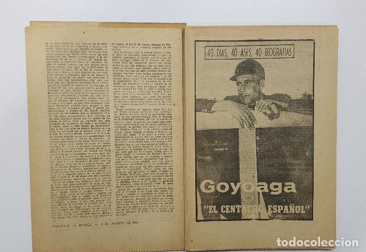 Coleccionismo deportivo: LOTE 50 números años 1963 y 1964 de: 40 DÍAS 40 ASES 40 BIOGRAFÍAS (Marca) intonsos - Foto 13 - 193906457