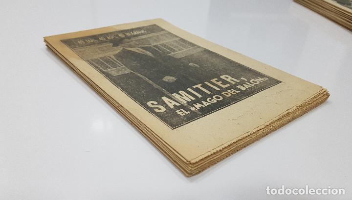 Coleccionismo deportivo: LOTE 50 números años 1963 y 1964 de: 40 DÍAS 40 ASES 40 BIOGRAFÍAS (Marca) intonsos - Foto 15 - 193906457
