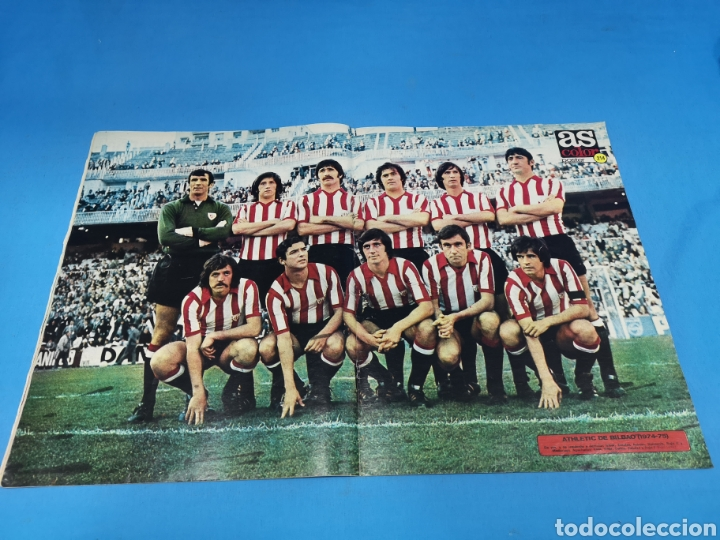 Coleccionismo deportivo: Revista AS COLOR NUM. 218. ASÍ, NO. PÓSTER CENTRAL ATLETHIC CLUB DE BILBAO - Foto 2 - 193907082