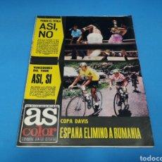 Coleccionismo deportivo: REVISTA AS COLOR NUM. 218. ASÍ, NO. PÓSTER CENTRAL ATLETHIC CLUB DE BILBAO. Lote 193907082
