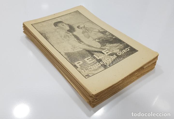 LOTE 50 NÚMEROS AÑOS 1963 Y 1964 DE: 40 DÍAS 40 ASES 40 BIOGRAFÍAS (MARCA) INTONSOS (Coleccionismo Deportivo - Revistas y Periódicos - Marca)