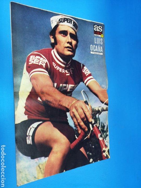 Coleccionismo deportivo: Revista AS COLOR NUM. 215. ERA PENALTY. PÓSTER CENTRAL LUIS OCAÑA - Foto 2 - 193987610