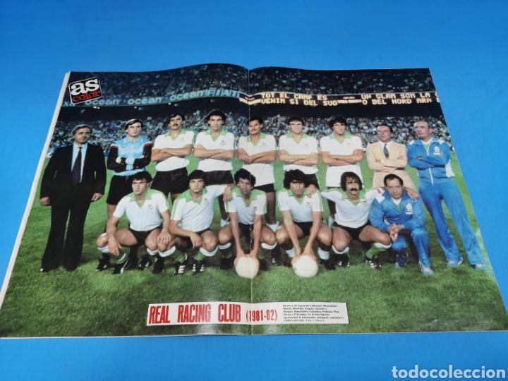Coleccionismo deportivo: Revista AS COLOR NUM. 548. ¡300 MILLONES!. PÓSTER REAL RACING CLUB - Foto 2 - 193988466