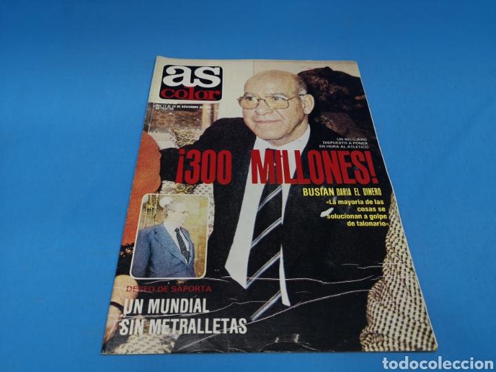 REVISTA AS COLOR NUM. 548. ¡300 MILLONES!. PÓSTER REAL RACING CLUB (Coleccionismo Deportivo - Revistas y Periódicos - As)
