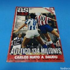 Coleccionismo deportivo: REVISTA AS COLOR NUM. 386. ATLÉTICO; 134 MILLONES. Lote 193989697