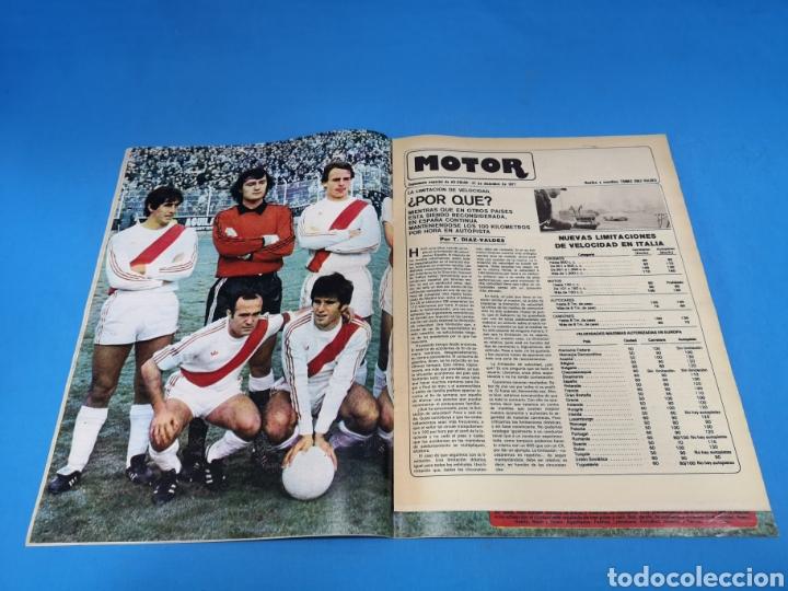 Coleccionismo deportivo: Revista AS COLOR NUM. 345. KUBALA, optimista: PODEMOS DAR LA CAMPANADA EN ARGENTINA. PÓSTER RAYO VAL - Foto 2 - 193990518
