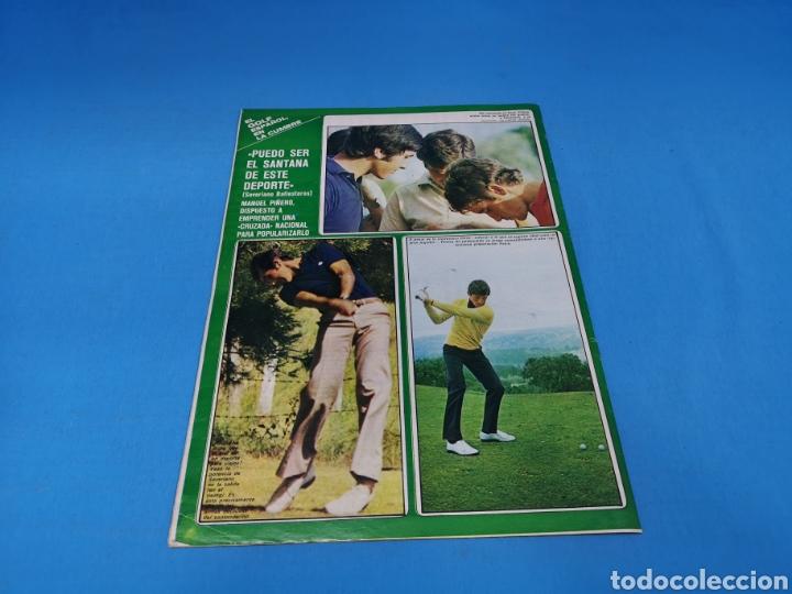 Coleccionismo deportivo: Revista AS COLOR NUM. 294. ATLÉTICO 4, MADRID 0. UNA PALIZA. PÓSTER SPORTING DE GIJÓN - Foto 3 - 193990841
