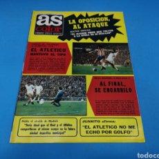 Coleccionismo deportivo: REVISTA AS COLOR NUM. 295. EL ATLÉTICO MANTUVO EL TIPO. PÓSTER CENTRAL RAYO VALLECANO. Lote 193991092
