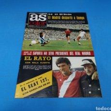 Coleccionismo deportivo: REVISTA AS COLOR NUM. 333. EL MADRID DESPERTÓ A TIEMPO. 3-0 AL BURGOS. Lote 193992100