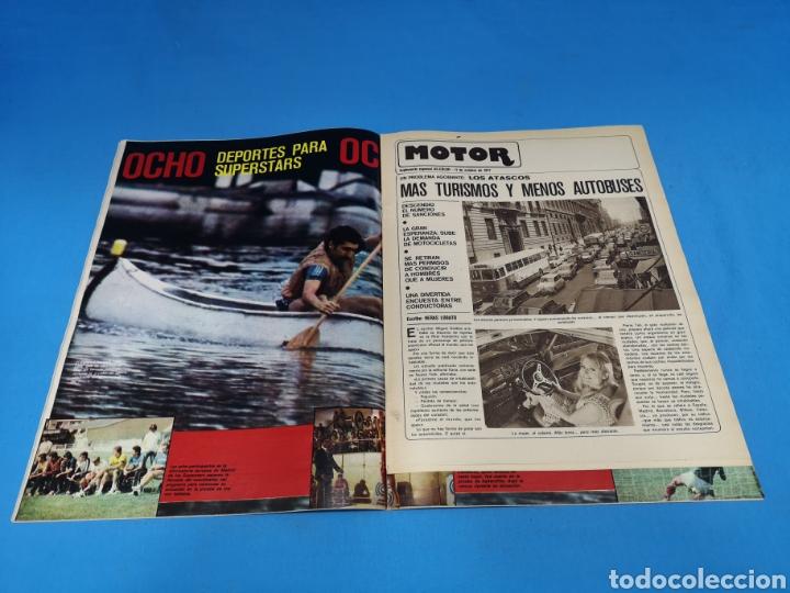 Coleccionismo deportivo: Revista AS COLOR NUM. 334. TRES PARA EL NUEVE. EL RAYO SE SOLTÓ EL PELO - Foto 2 - 193992445