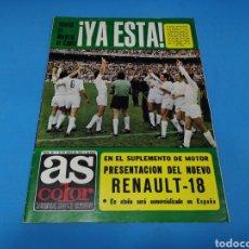Coleccionismo deportivo: REVISTA AS COLOR NUM. 361. ¡YA ESTÁ! PÓSTER CENTRAL REAL MADRID DE BALONCESTO, CAMPEÓN DE EUROPA. Lote 193992695