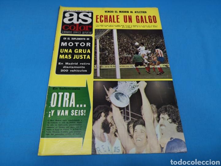 REVISTA AS COLOR NUM. 360. OTRA... ¡Y VAN SEIS! (Coleccionismo Deportivo - Revistas y Periódicos - As)