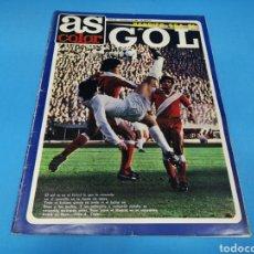 Coleccionismo deportivo: REVISTA AS COLOR NUM. 455. BENDITO SEA EL GOL. PÓSTER CENTRAL DE ROBERTO DINAMITA, FC BARCELONA. Lote 193993812