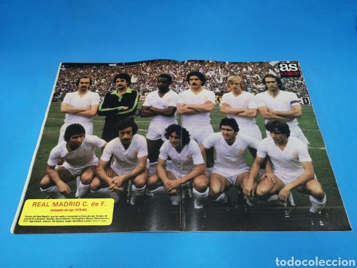 Coleccionismo deportivo: Revista AS COLOR NUM. 471. ZARPAZOS DEL GATO. PÓSTER CENTRAL REAL MADRID - Foto 2 - 193995843