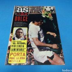 Coleccionismo deportivo: REVISTA AS COLOR NUM. 468. DULCE. PÓSTER DEL CALPISA, CAMPEÓN DE ESPAÑA Y DE EUROPA DE BALONMANO. Lote 193996867