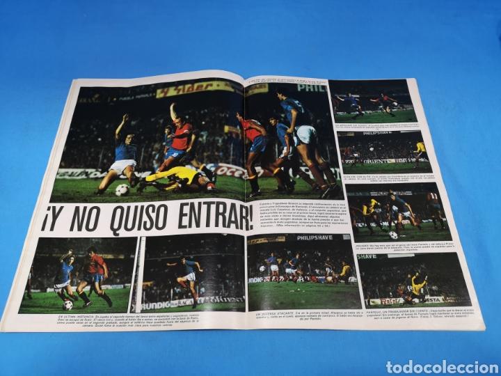 Coleccionismo deportivo: Revista AS COLOR NUM. 439. LUÍS: NO DIMITO. ¡VA POR USTEDES! - Foto 2 - 193997961