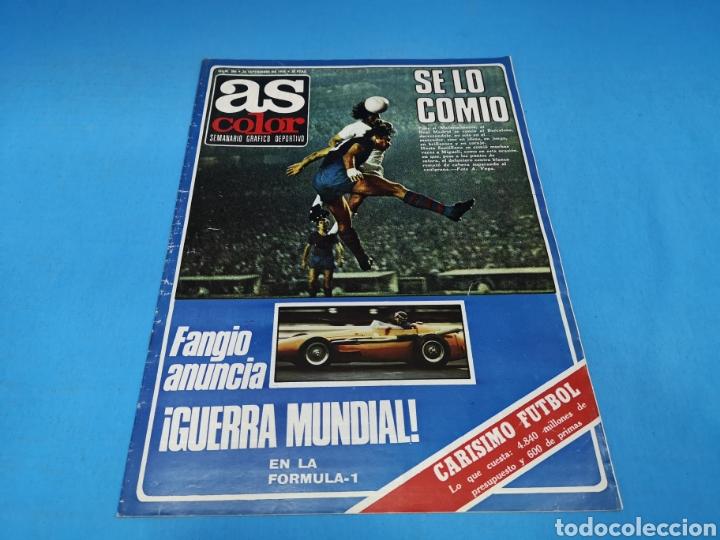 REVISTA AS COLOR NUM. 384. SE LO COMIÓ. EL MADRID SE COMIÓ AL BARCELONA (Coleccionismo Deportivo - Revistas y Periódicos - As)