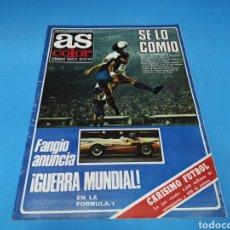 Coleccionismo deportivo: REVISTA AS COLOR NUM. 384. SE LO COMIÓ. EL MADRID SE COMIÓ AL BARCELONA. Lote 193999613