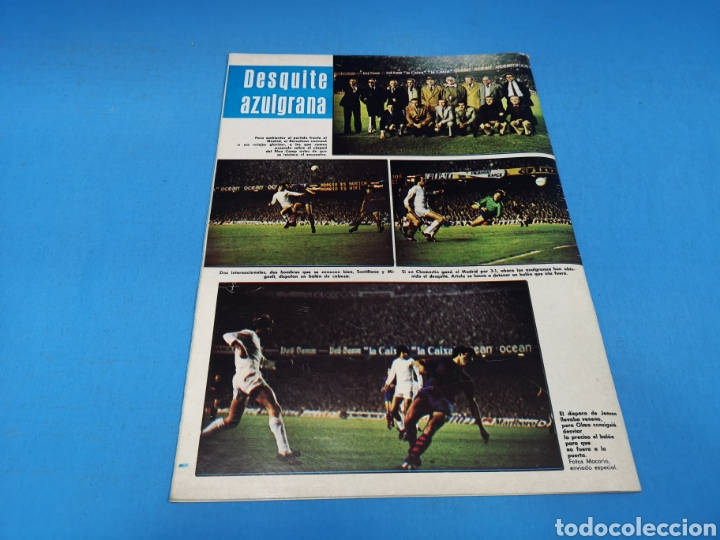 Coleccionismo deportivo: Revista AS COLOR NUM. 405. SALVÓ LA TEMPORADA. PÓSTER CENTRAL REAL SOCIEDAD - Foto 3 - 194002791