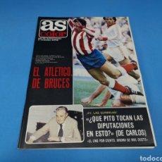 Coleccionismo deportivo: REVISTA AS COLOR NUM. 549. EL ATLÉTICO, DE BRUCES. PÓSTER CENTRAL DEL REAL BETIS BALOMPIE. Lote 194003165