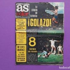 Coleccionismo deportivo: ANTIGUA REVISTA FUTBOL AS COLOR Nº 233 4 DE NOVIEMBRE 1975 POSTER CENTRAL U.D. SALAMANCA. Lote 194010821