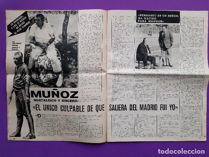 Coleccionismo deportivo: ANTIGUA REVISTA FUTBOL AS COLOR Nº 233 4 DE NOVIEMBRE 1975 POSTER CENTRAL U.D. SALAMANCA - Foto 4 - 194010821