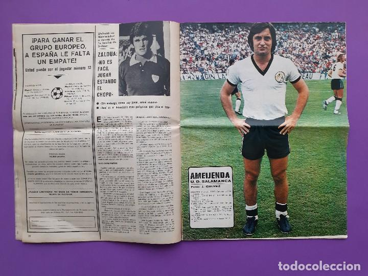 Coleccionismo deportivo: ANTIGUA REVISTA FUTBOL AS COLOR Nº 233 4 DE NOVIEMBRE 1975 POSTER CENTRAL U.D. SALAMANCA - Foto 5 - 194010821