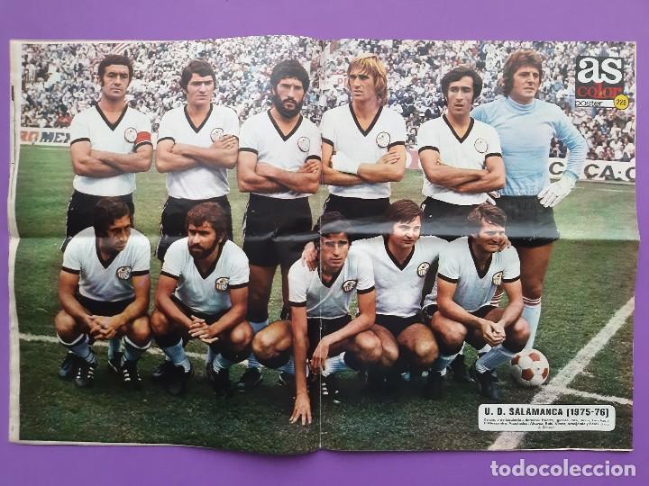 Coleccionismo deportivo: ANTIGUA REVISTA FUTBOL AS COLOR Nº 233 4 DE NOVIEMBRE 1975 POSTER CENTRAL U.D. SALAMANCA - Foto 6 - 194010821
