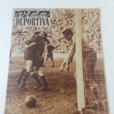 Colecionismo desportivo: DIARIO VIDA DEPORTIVA FC BARCELONA CAMPEON LIGA 1951-52 BARÇA CAMPEONES 7 ABRIL 1952 343 KUBALA. Lote 194069002