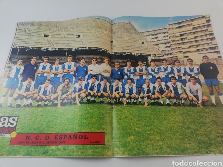 Coleccionismo deportivo: REVISTA AS COLOR NUMERO 79 NOVIEMBRE 1972 POSTER 76 RCD ESPAÑOL ESPANYOL 1972-73. - Foto 2 - 194070777