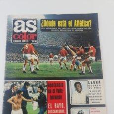 Coleccionismo deportivo: REVISTA AS COLOR NUMERO 79 NOVIEMBRE 1972 POSTER 76 RCD ESPAÑOL ESPANYOL 1972-73.. Lote 194070777