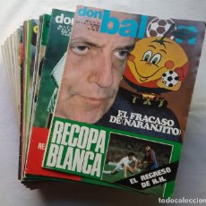 Coleccionismo deportivo: FÚTBOL REVISTA DON BALÓN LOTE 51 VER LISTADO. Lote 194130363