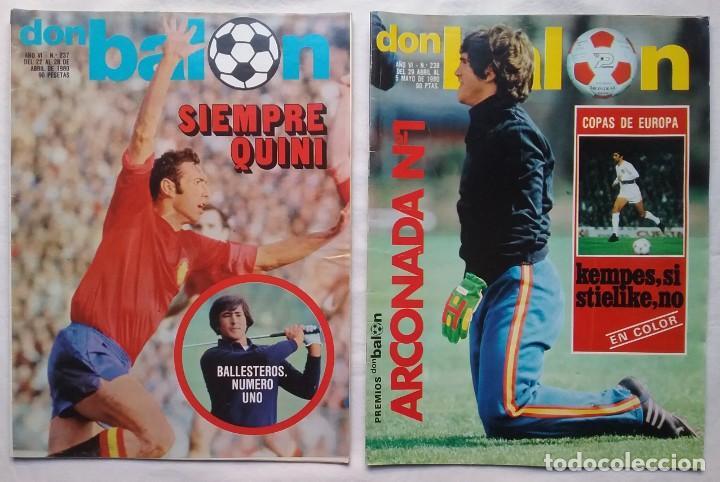 Coleccionismo deportivo: FÚTBOL REVISTA DON BALÓN LOTE 51 VER LISTADO - Foto 3 - 194130363
