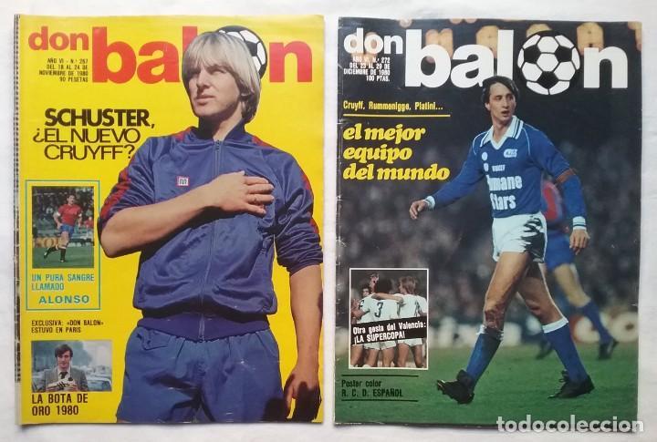 Coleccionismo deportivo: FÚTBOL REVISTA DON BALÓN LOTE 51 VER LISTADO - Foto 4 - 194130363