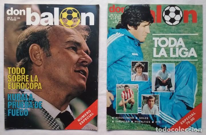 Coleccionismo deportivo: FÚTBOL REVISTA DON BALÓN LOTE 51 VER LISTADO - Foto 5 - 194130363