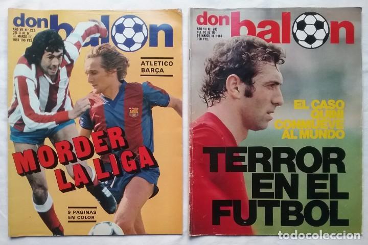 Coleccionismo deportivo: FÚTBOL REVISTA DON BALÓN LOTE 51 VER LISTADO - Foto 6 - 194130363