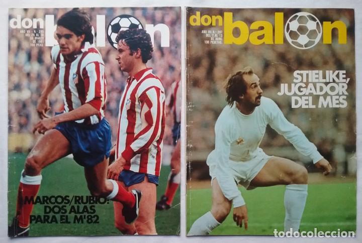 Coleccionismo deportivo: FÚTBOL REVISTA DON BALÓN LOTE 51 VER LISTADO - Foto 7 - 194130363