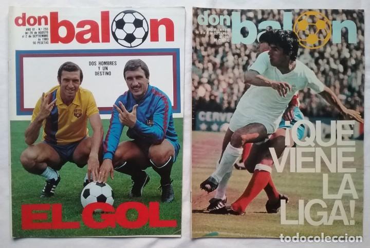 Coleccionismo deportivo: FÚTBOL REVISTA DON BALÓN LOTE 51 VER LISTADO - Foto 12 - 194130363
