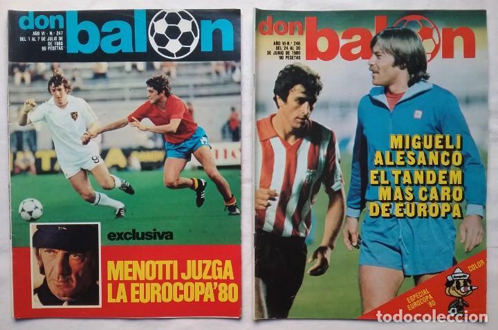 Coleccionismo deportivo: FÚTBOL REVISTA DON BALÓN LOTE 51 VER LISTADO - Foto 13 - 194130363